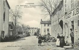 63 , BERTIGNAT , Route De La Chapelle Et école De Filles , * 374 90 - Sonstige Gemeinden