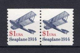 UNITED STATES Yt. 1901 MNH** 2 Stuks 1990 - Stati Uniti