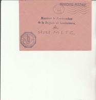 H 4 - Enveloppe Gendarmerie  RILLIEUX LA PAPE  - LYON ARMEES - Marcofilie (Brieven)