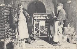 EPERNAY: Travail Du Vin De Champagne - Machine à électriser Les Bouteilles (Maison Pol ROGER) - Vigne
