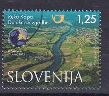 Slovenia Slovenie Slowenien 2013 Used CTO: Nature Protection; Tourism Kolpa River Region; European Destination Of Exelen - Holidays & Tourism