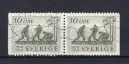 ZWEDEN Yt. 411a° Gestempeld 1956 - Svezia