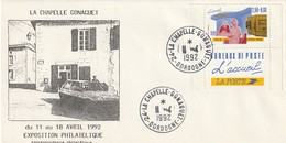 """Env. De """"La Chapelle Gonaguet - 24, Dordogne"""" Du 11-04-1992, """"Expo Philatélique"""" Sur YT 2744 - Marcophilie (Lettres)"""