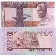 BILLET GHANA 50 CEDIS - 1980 - Ghana