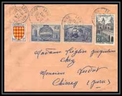 3672 France Lettre (cover) N°402 + 400 Marie Curie Lyon 12/8/1957 - Storia Postale