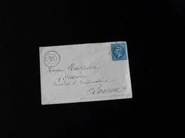 ENVELOPPE DE FORGES POUR ROUEN  -  1956  - - Marcophilie (Lettres)