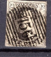 6 Oblitération P156 Chenée  -  Cote 24,00 € - 1851-1857 Medaillen (6/8)