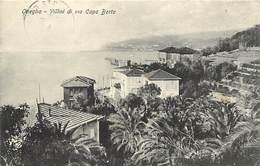 Pays Div- Italie - Italia - Italy -ref V739- Oneglia - Villini Di Via Capo Berta - - Italie