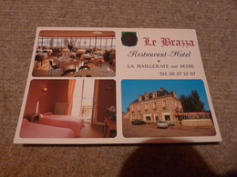 La Mailleraye  Hotel Restaurant Le Brazza - France
