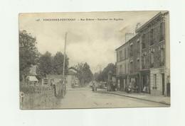 94 - VINCENNES  - FONTENAY - Rue Diderot Carrefour Des Rigollots Vue Rare Animé Bon état - Fontenay Sous Bois