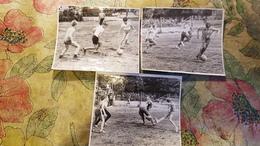 3 Items Lot - Little Boy  - Old Original Photo  - Soviet Childhood - Little Boy 1970s - Football - Soccer - Anonieme Personen