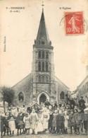 RARE OISSERY L'EGLISE GROSSE ANIMATION EDITION DHEURE - Otros Municipios