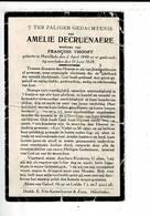 Dp 9138 - AMELIE DECRUENAERE - HARELBEKE 1849 + 1929 - Images Religieuses