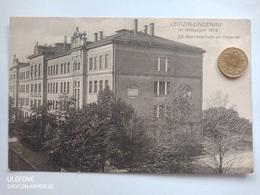 Leipzig-Lindenau, 23.Bezirksschule, Kaserne, 1914 - Leipzig