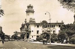 35063. Postal LIMA (Peru) 1956. Barrio De MIRAFLORES Municipalidad, Ayuntamiento - Perú