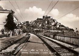 (C).Roviano(RM).Stazione Ferroviaria.F.to Grande.Viaggiata 1958 (c17) - Italien