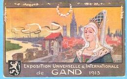 Gent (Gand)-Wereld Tentoonstelling-Exposition Universelle-1913-Litho De Van Neste- Lithographie-uitg.Vanderpoorten Gent - Gent