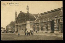 Mechelen Malines De Statie La Gare 15 Flion - Foreste, Parchi, Giardini