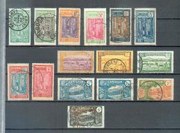 CAM 413 - YT 109-110-111-113-114-117-119-122-123-124-125-127-128-129-130 ° Obli - Kamerun (1915-1959)
