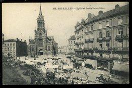 Bruxelles Eglise Et Parvis Saint Gilles 331 Change Maison Honinckx  Georges - Monuments, édifices