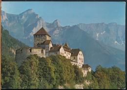 °°° 14908 - LIECHTENSTEIN - CASTLE OF VADUZ - 1972 With Stamps °°° - Liechtenstein