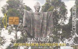 GUATEMALA - Statue To Pope John Paul II, Telgua-035, Used - Guatemala