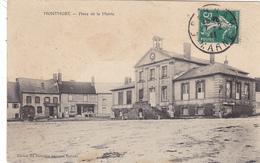 51-marne-montmort-legerement Decollée Sur 1 Coté-bon Etat - Montmort Lucy