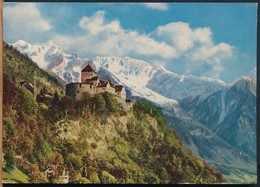 °°° 14909 - LIECHTENSTEIN - CASTLE OF VADUZ - 1959 With Stamps °°° - Liechtenstein