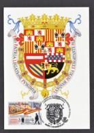 18.- SPAIN ESPAGNE 2019 MAXIMUM CARD Spanish Diplomatic Career Shield. Madrid - Tarjetas Máxima