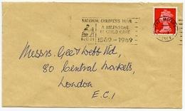 Slogan Postmark National Children's Homes, 1969 / Address - Smithfield, London - 1952-.... (Elizabeth II)