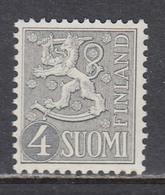 Finland 1958 - Freimarke: Wappenloewe, Mi-Nr. 492, MNH** - Finland