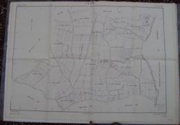 032, Plan Du Cadastre Renouvelée Pour 1961, Loir Et Cher, Troo, Section AI, Cachet Du Cadastre De Vendome Tirage Du 14 J - Cartes