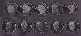 Falkland Islands 5 Coins Set 2018 - Falkland Islands
