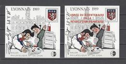 FRANCE.  YT  Bloc N° 10-11 Signés    Neuf **  1989 - CNEP