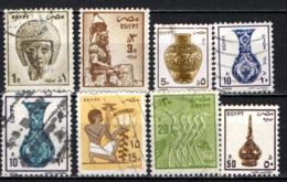 EGITTO - 1985 - IMMAGINI DELL'EGITTO - USATI - Egipto