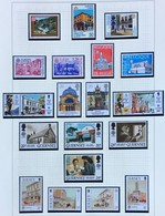 1990 Europa-CEPT  Post Office Buildings Complete Year Set With Blocks - Europa-CEPT