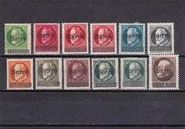Saargebiet Nr. 18-27* ( T 13111) - 1920-35 Saargebiet – Abstimmungsgebiet