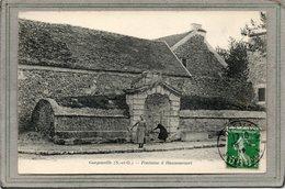 CPA - Environs De GARGENVILLE (78) - HANNEUCOURT - Aspect De La Fontaine-Lavoir En 1912 - Gargenville