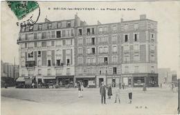 92  Becon Les Bruyeres  La Place De La Gare - Otros Municipios