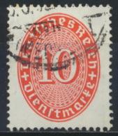 Deutsches Reich Dienst 123Y O - Servizio
