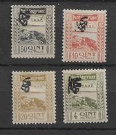 Porto 1920 MH Albania Mi 14-17 - Albanie