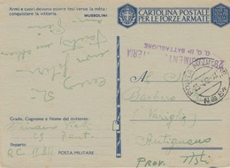 MILITARI/ B - CARTOLINA - POSTA MILITARE N 84 - 29° REGGIMENTO FANTERIA - Oorlog 1939-45