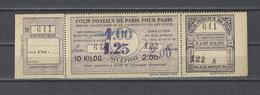 FRANCE.  MAURY  Clolis Postaux Paris Pour Paris  N° 148   1930 - Neufs