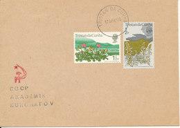 Tristan Da Cunha Cover 17-4-1975 (see The Image) - Tristan Da Cunha