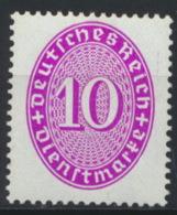 Deutsches Reich Dienst 125 ** Postfrisch - Oficial