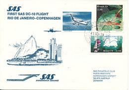 Brazil First SAS Flight DC-10 Rio De Janeiro - Copenhagen 1-11-1979 - Brazilië