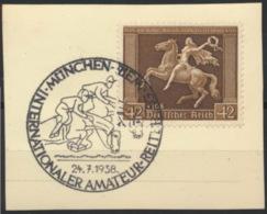 Deutsches Reich 671 O Briefstück Sonderstempel München - Allemagne