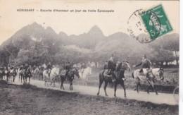 HERISSART - Escorte D'Honneur Un Jour De Visite Episcopale - 1913 (lot Pat 93) - Autres Communes