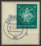 Deutsches Reich 896 Eckrand O Briefstück - Allemagne