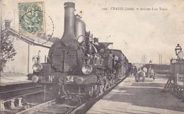 524 Chasse (isère) Arrivée D'un Train Gros Plan Locomotive - France